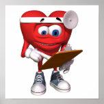 El doctor médico Poster del corazón