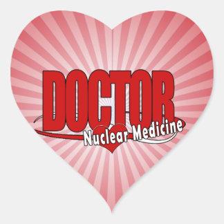 EL DOCTOR NUCLEAR MEDICINE DEL LOGOTIPO COLCOMANIAS DE CORAZON