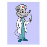 El doctor Nurse Mouse Postal