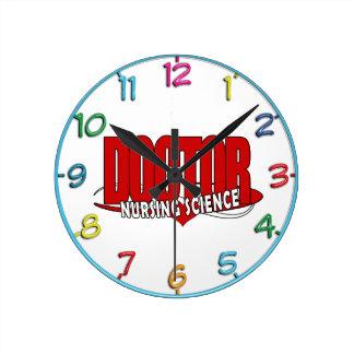 EL DOCTOR NURSING SCIENCE BIG RED RELOJ REDONDO MEDIANO