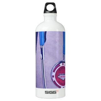 El doctor occidental púrpura Gambling Stethoscope Botella De Agua