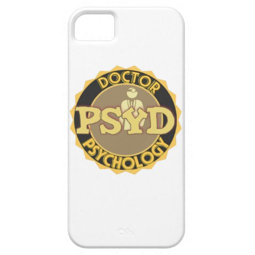 El DOCTOR OF PSYCHOLOGY PSYCHOLOGIST del LOGOTIPO  iPhone 5 Case-Mate Carcasa