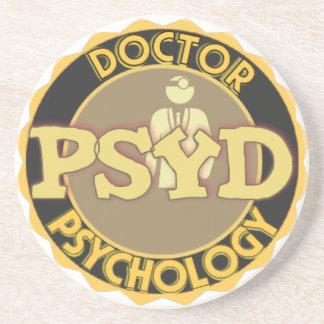 El DOCTOR OF PSYCHOLOGY PSYCHOLOGIST del LOGOTIPO  Posavasos Para Bebidas