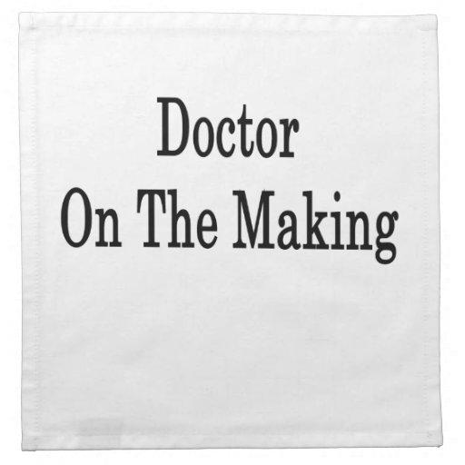 El doctor On The Making Servilleta De Papel
