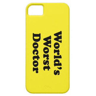 El doctor peor del mundo iPhone 5 Case-Mate fundas