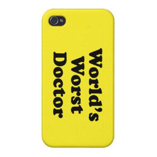 El doctor peor del mundo iPhone 4/4S funda