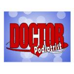 EL DOCTOR PODIATRIST DEL LOGOTIPO TARJETAS POSTALES