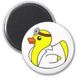 El doctor Quack el pato de goma Iman De Nevera