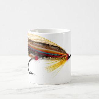 El doctor Salmon Fly Mug de Helmsdale Taza De Café