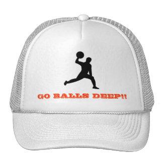 ¡el dodgeball, VA LAS BOLAS PROFUNDAMENTE!! Gorros