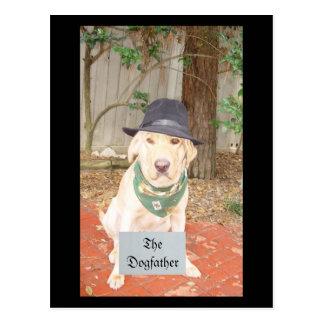 El Dogfather Tarjeta Postal
