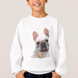 El dogo francés feliz embroma la camiseta poleras