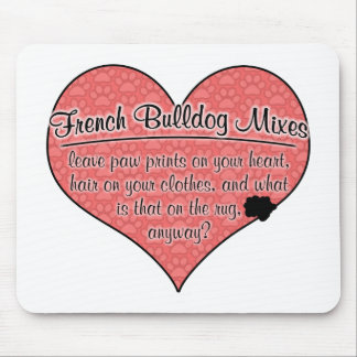 El dogo francés mezcla humor del perro de las impr tapetes de ratones