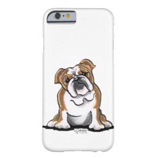El dogo inglés blanco de Brown n sienta bonito Funda De iPhone 6 Slim