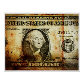 El dólar póster