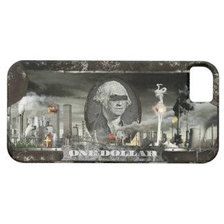 El dólar todopoderoso (con las bombas y las balas) iPhone 5 carcasas