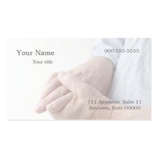 el dolor en dedo articula la tarjeta de visita