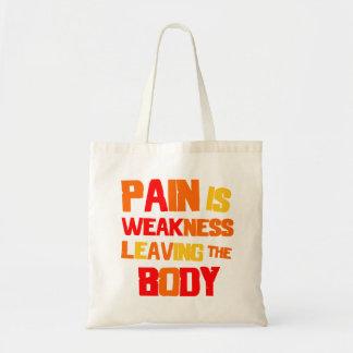 El dolor es debilidad… Bolso Bolsa