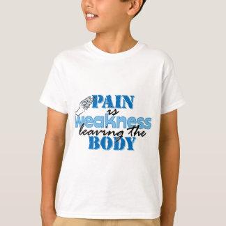 El dolor es debilidad que sale del cuerpo - pista playera