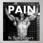 El dolor es temporal impresiones