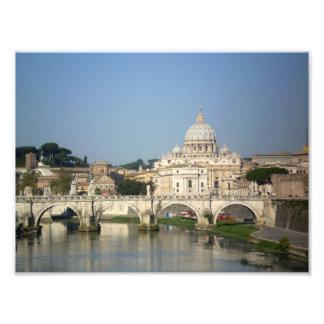 El domingo por la mañana en Roma Fotografia