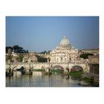 El domingo por la mañana en Roma Postal
