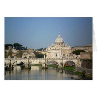 El domingo por la mañana en Roma Tarjeta Pequeña