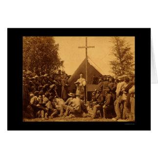 El domingo por la mañana masa católica 1861 tarjetas