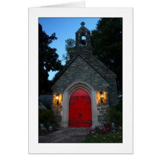El domingo por la noche tarjeta de felicitación