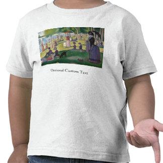 El domingo por la tarde en la isla del La grande Camiseta