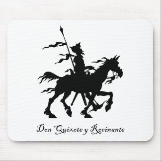 El Don Quijote monta otra vez Tapete De Ratones