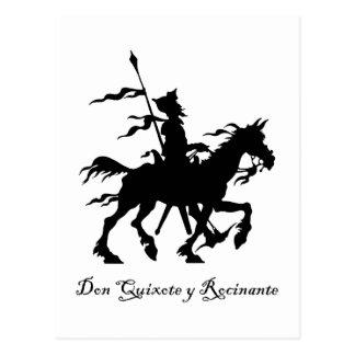 El Don Quijote monta otra vez Postal