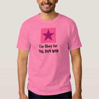 El DON WAN - la camiseta de los hombres Camisas