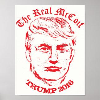 El Donald: El poster político divertido real de