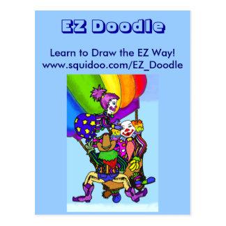 El Doodle de EZ, aprende dibujar la manera de EZ Postal