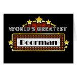 El Doorman más grande del mundo Tarjetón