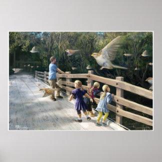 El Dorado Bridge: Sparrow Flight Posters