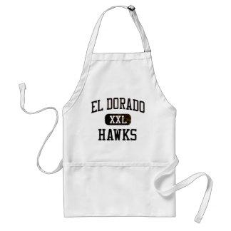 El Dorado Hawks Athletics Adult Apron