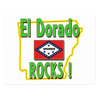 El Dorado Rocks ! (green) Postcard