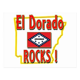 El Dorado Rocks ! (red) Postcard