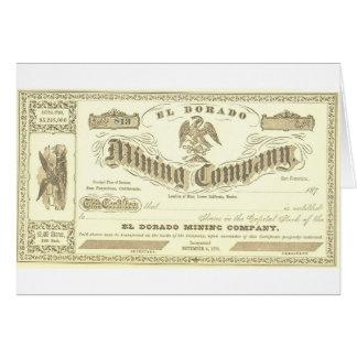EL DORADO SHARES CARD