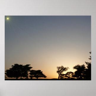 El Dorado Sunset Posters