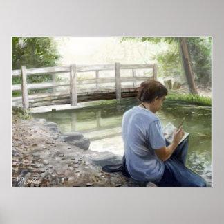 El Dorado Turtles: Water Sketching Poster