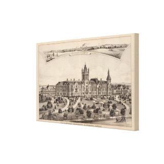 El Dorado University, Kansas Canvas Prints