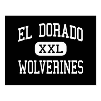 El Dorado - Wolverines - High - Chandler Arizona Postcard