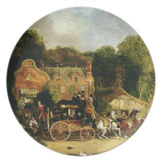 El Dorking y el Londres Royal Mail que sale del 'm Platos