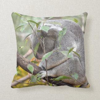 el dormir c de la cabeza de la koala abajo cojín decorativo