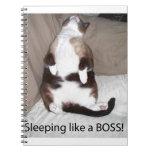 ¡El dormir como Boss! Libro De Apuntes