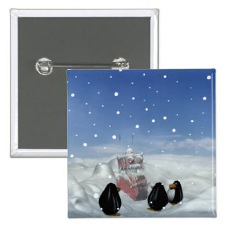 El dormir con el botón de los pingüinos