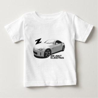 el dormir de 350Z Aint Playera Para Bebé